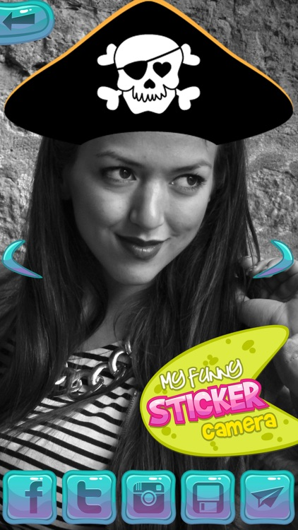My Funny Sticker Camera: Photo editor with cute deco stamps & image makeover memes