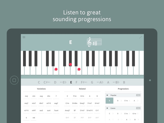 Cheeky Fingers Piano Chord Dictionary Progressions And