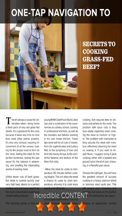 Paleo Diet Magazine - Lifestyle, Fitness, and Nutrition Tips for Optimal Paleolithic Living screenshot-4