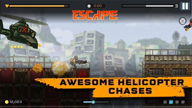 Strike Force Heroes: Extraction Screenshot