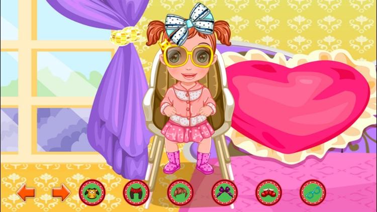 My New Baby Born Girl Game screenshot-4