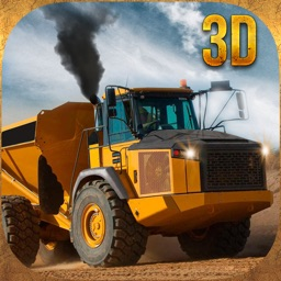 Construction excavator crane driver 3D- realistic parking simulator