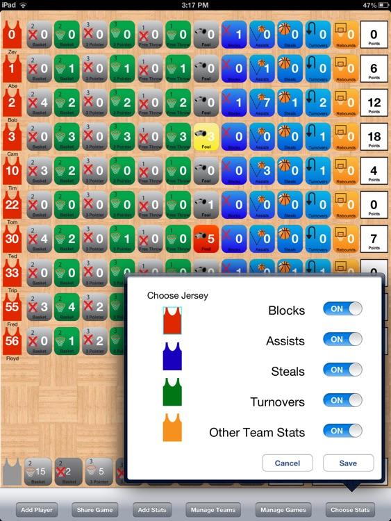 Hoops Stats screenshot-4