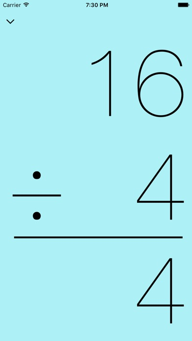 mathCards / Division x Multiplication + Addition - Subtraction app image