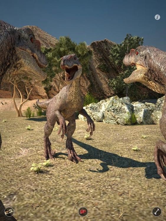 Talking Raptor HD screenshot-3