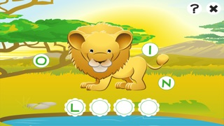 ABC safari games for children: Train your word spelling skills of