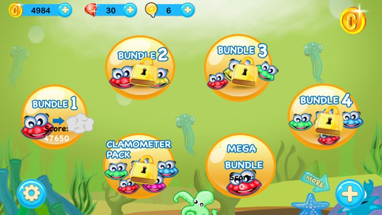 Tiny Monster Clam Crush Heroes – A Free Poppers Chain Reaction Puzzle Game screenshot-3