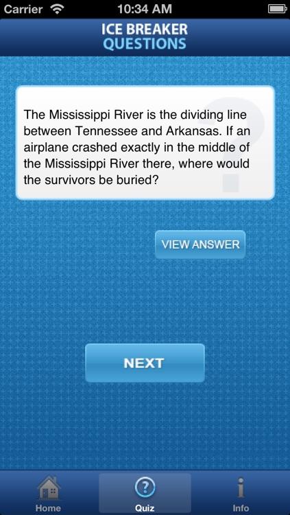 Ice Breaker Questions screenshot-4