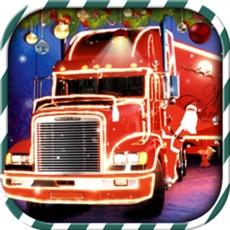 Activities of Christmas Truck Parking 3D