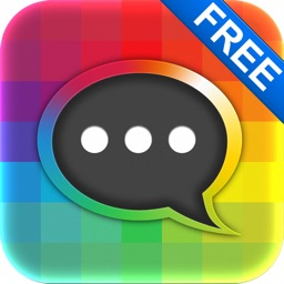 Free Colorful Message With Emoji