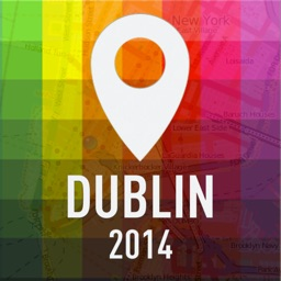 Offline Map Dublin - Guide, Attractions and Transport