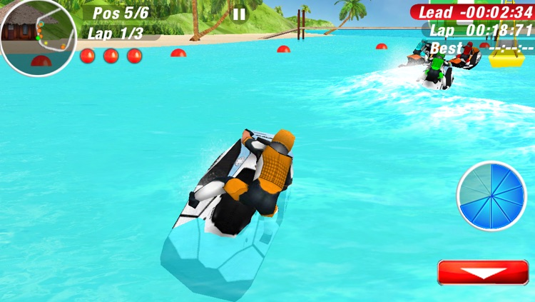 Aqua Moto Racing 2 screenshot-1