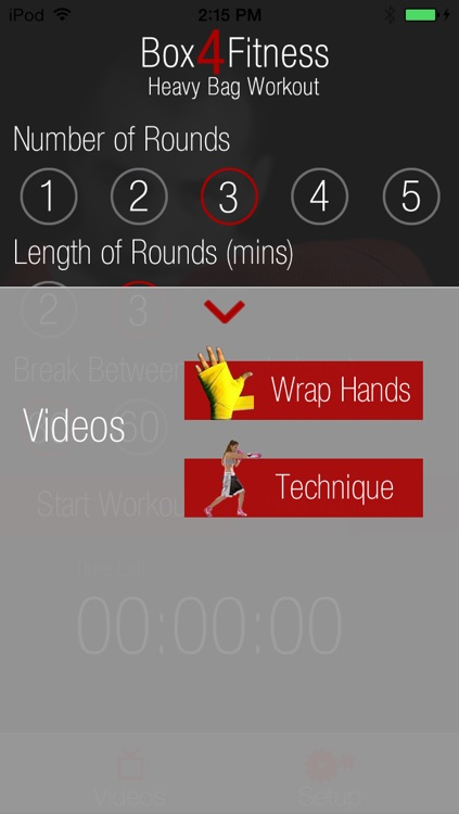 Heavy Bag Workout Box 4 Fitness screenshot-3