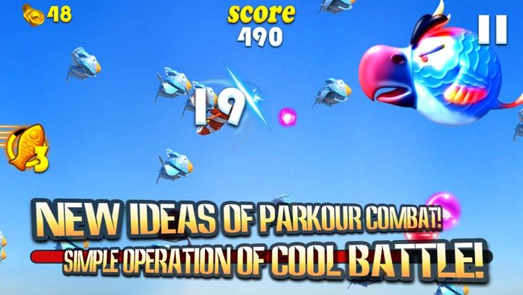 Bang Bang Fish - A Ninja Fish In the Sky