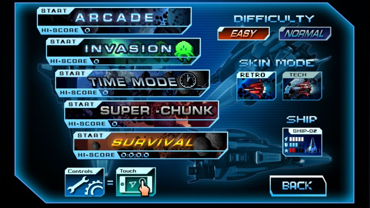 Retro Dust - Classic Arcade Asteroids Vs Invaders screenshot-4