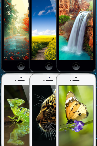 Cool Wallpapers for iOS 7 Pro screenshot 2