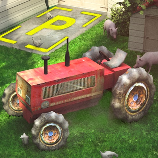 3D Tractor Parking Driving Simulator - Realistic Farm SIM
