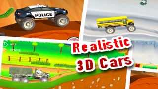 Monster Truck Hill Racing Free - 3D Real Alpine 4x4 Car
