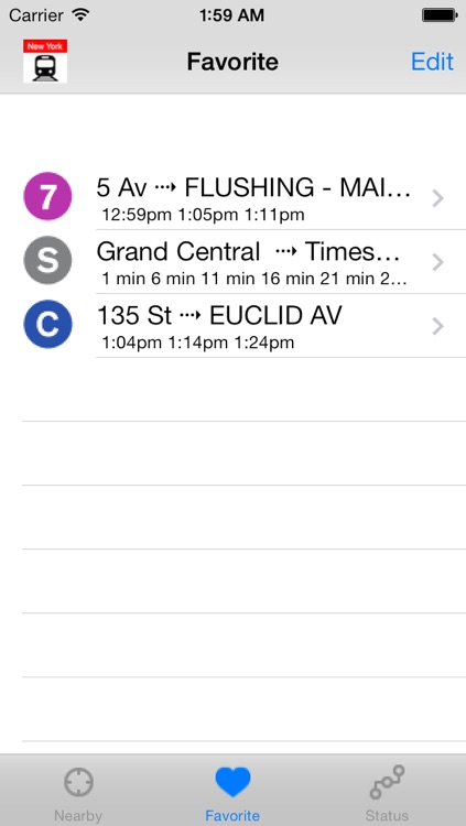 NYC Subway Time - For All Train Lines in New York City MTA Subway Status screenshot-3