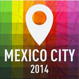 Offline Map Mexico City - Guide, Attractions and Transports