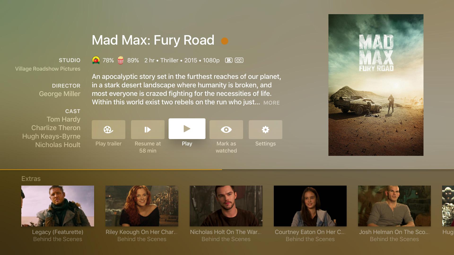 Plex: Movies, TV, Music + more screenshot 13
