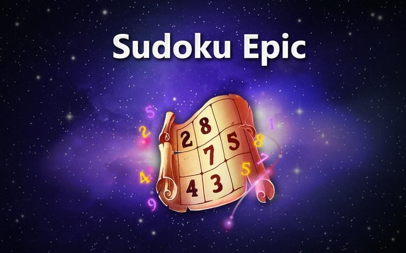 Судоку Epic - Sudoku скриншот программы 1