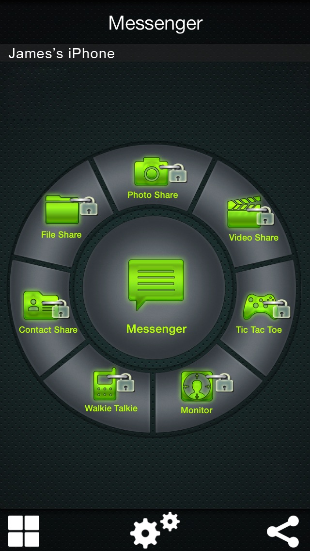 Bluetooth & Wifi Chat Mania : Wireless chat with your friends Screenshot