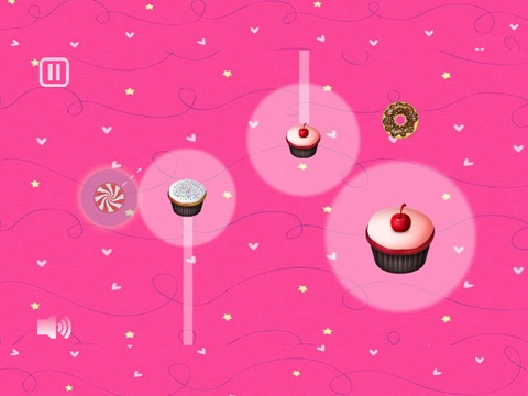Cupcake Saga - A top free HD puzzle game with cupcakes, bonbons, donut and lollipops.-ipad-1