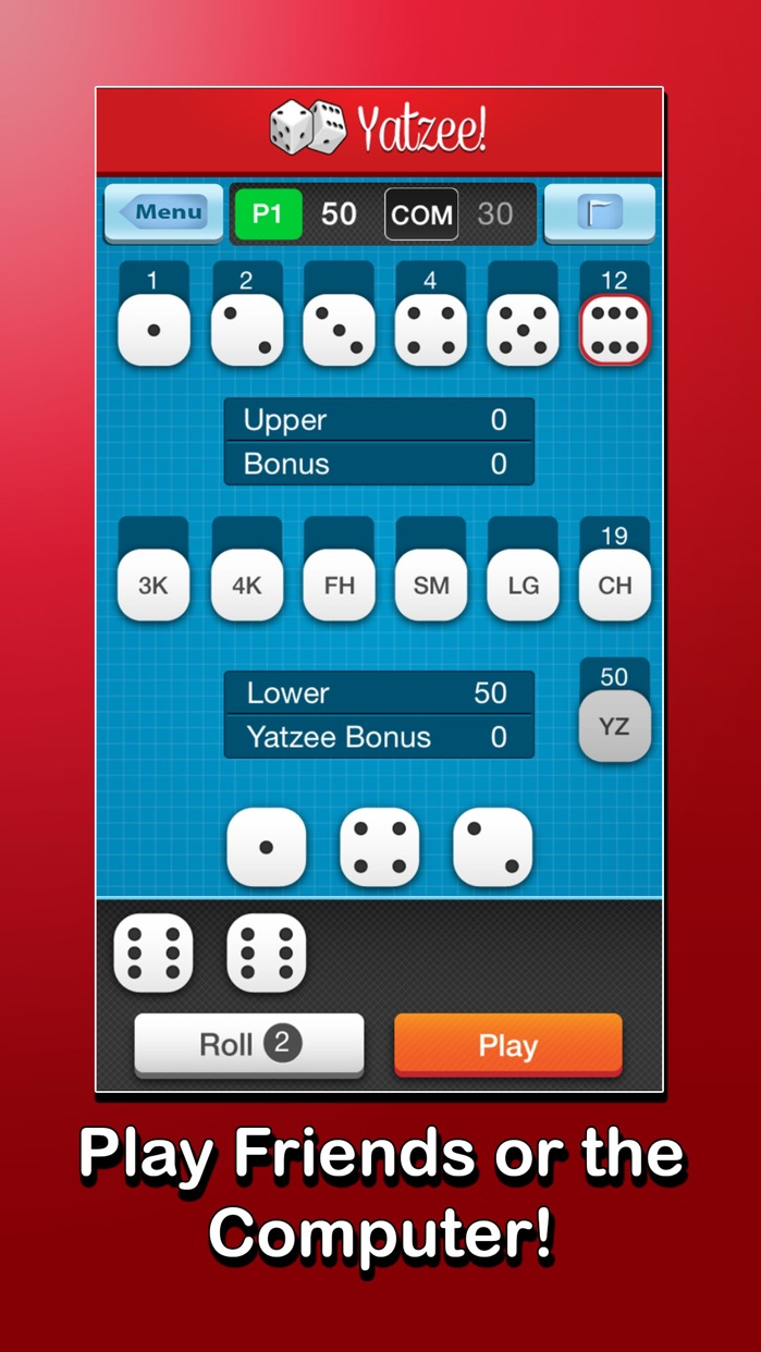 Addictive Dice - Classic Dice Roller Screenshot