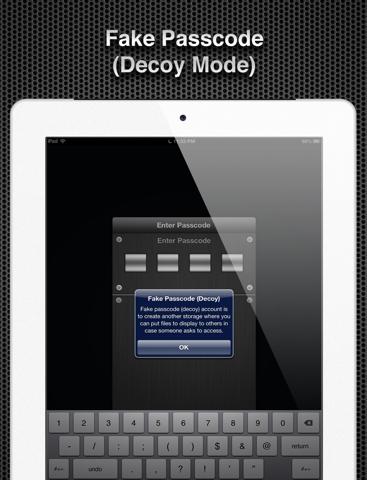 Screenshot #5 pour App Secret
