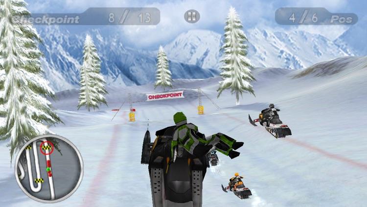 Snow Moto Racing screenshot-4