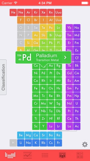 Elemints periodic table on the app store screenshots urtaz Images