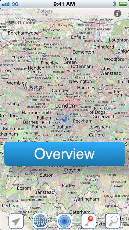 London Offline Citymap