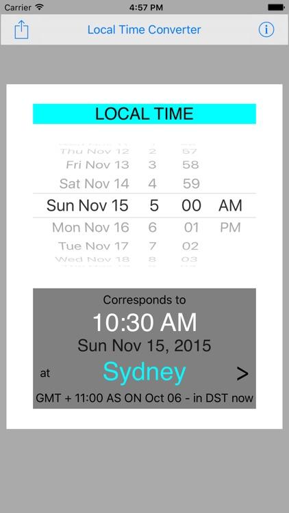 Local Time Converter screenshot-4