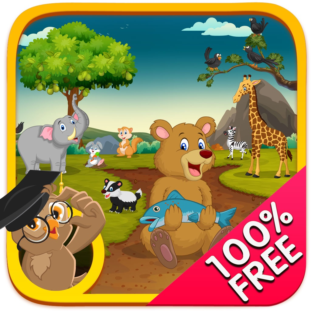 Animal Safari - Learn Animals Names & Spellings with Spoken Alphabets & Words hack