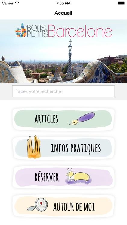 Les Bons Plans de Barcelone screenshot-0