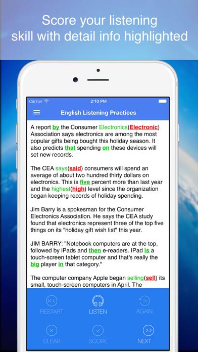 English Listening Practices - Smart tool to improve your listening skillのおすすめ画像3
