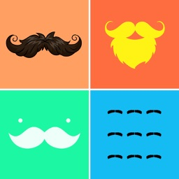 Mustache Wallpapers & Backgrounds HD - Home Screen Maker with Cool Beard Icon Themes