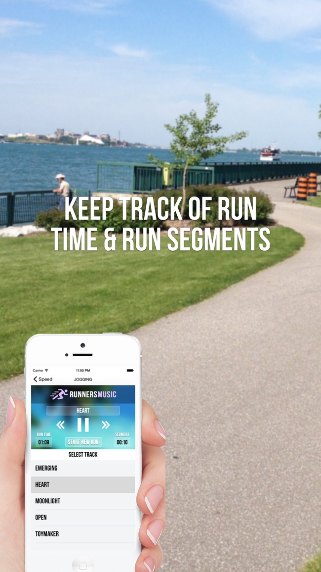 Running Music Trainer Screenshot
