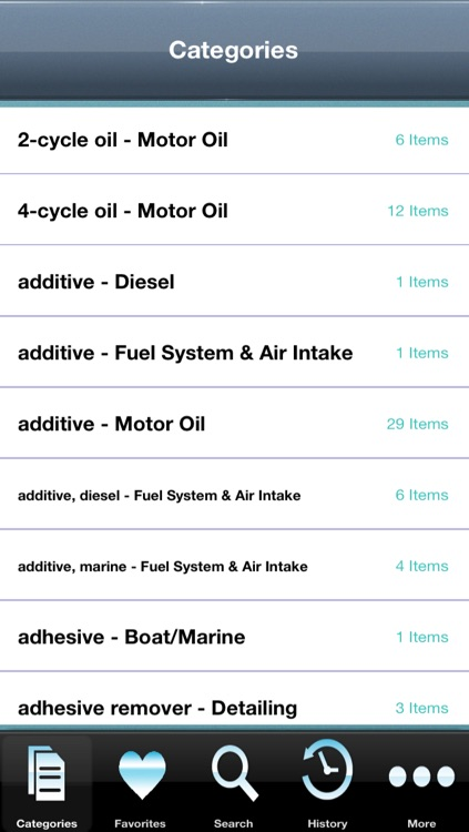 Auto Product DB