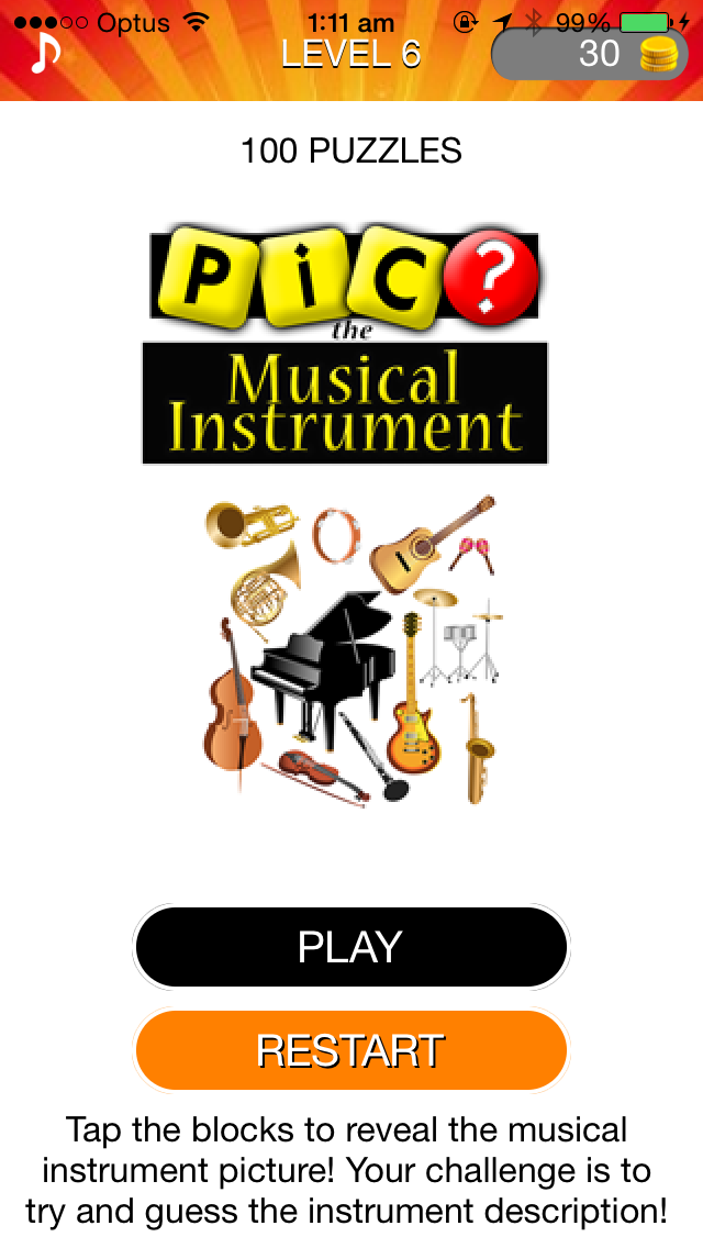 点击获取Pic the Musical Instrument