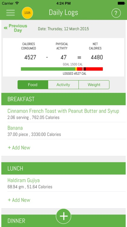 HealthSidekick-Most accurate weight loss app in the world! screenshot-4