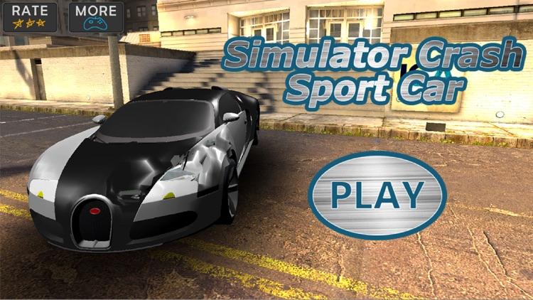 Simulator Crash Sport Car 3D By Mariya Ivanova