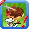 Cut The Donuts yummy : Slice rope to bake bakery cooking Chef
