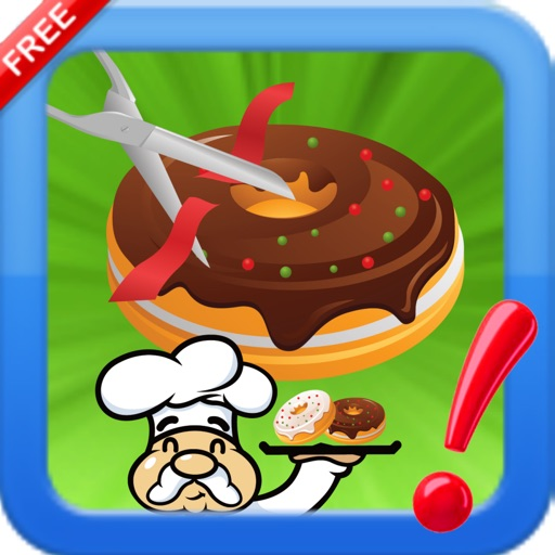 Cut The Donuts yummy : Slice rope to bake bakery cooking Chef iOS App