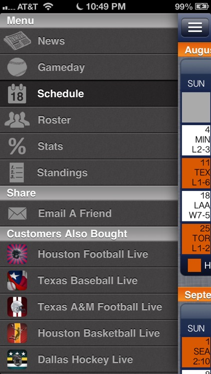 Houston Baseball Live