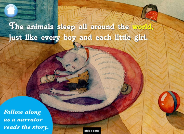 The Animals Sleep: A Bedtime Book of Biomes screenshot-1