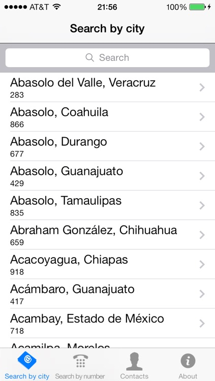 Mexico Area Codes Free
