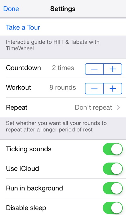 TimeWheel Tabata screenshot-4
