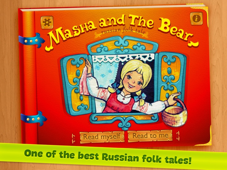 Masha and the Bear – free classic Russian folk fairy tale and audio book for kids